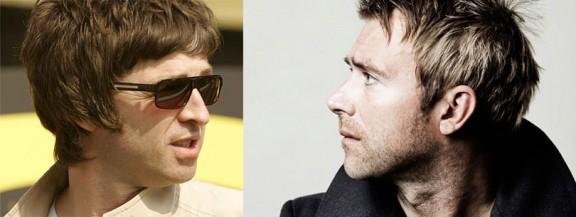 Gallagher y Albarn