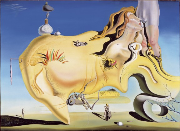 El gran masturbador - Dalí