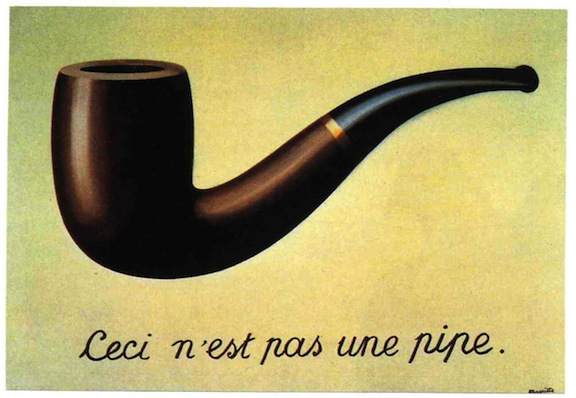 La trahison des imagens - René Magritte