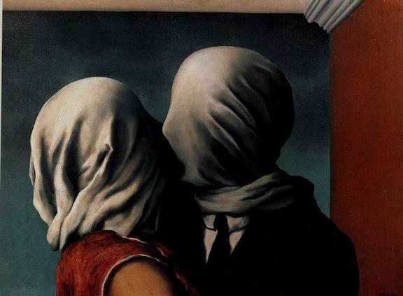 Los amantes - René Magritte
