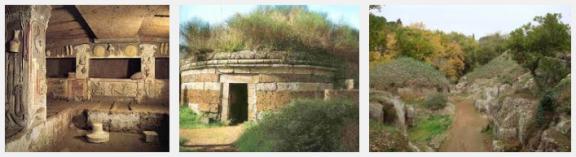 Necrópolis etrusca Cerveteri 3