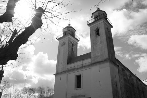 Iglesia del Santisimo Sacramento en Colonia del Sacramento