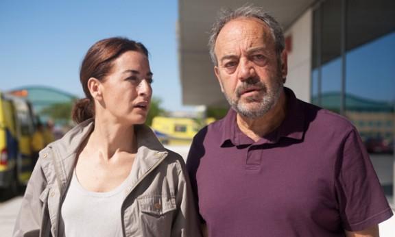 Belén López con Tito Valverde