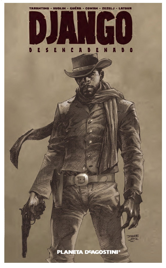 Django Desencadenado Cómic portada
