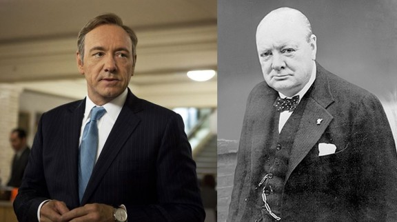 Kevin Spacey - Winston Churchill