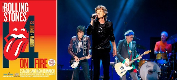 Rolling Stones - 14 on fire tour 2