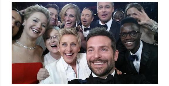 Selfie de DeGeneres