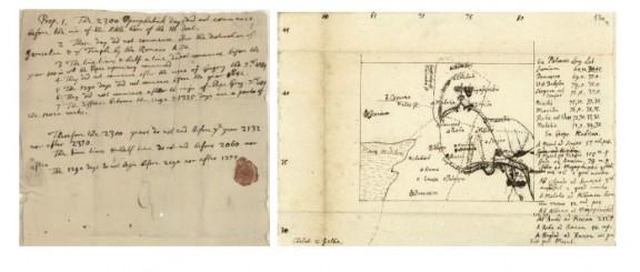 Texto de Isaac Newton sobre el Apocalípsis en 2066