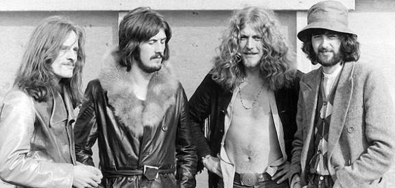 John Paul Jones John Bonham Robert Plant y Jimmy Page
