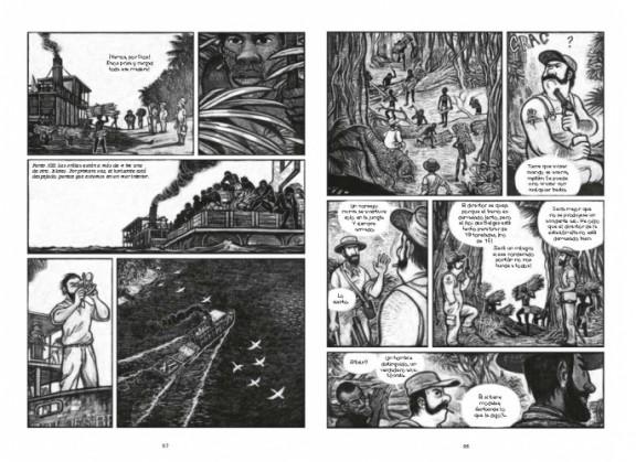 Dos páginas de 'Kongo'