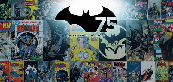 Imagen aniversario de Batman DC Comics