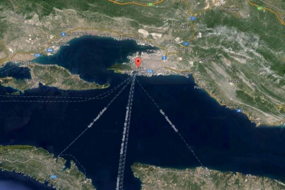 Mapa de Google con Split y Brac