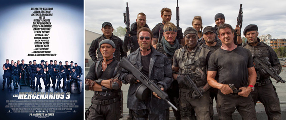 Los Mercenarios 3 (2014) mixta
