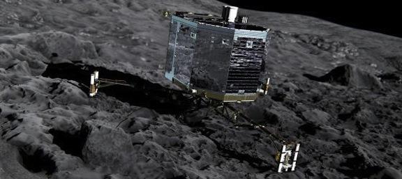 Sonda Philae - Misión Rosetta copia
